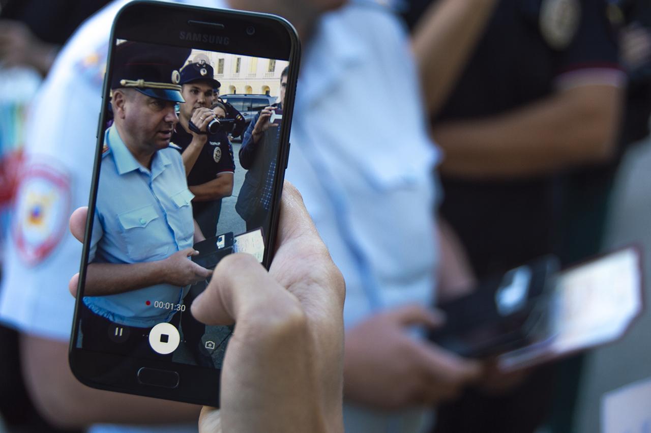 """фото ЗакС политика Полиция перекрыла вход в ИКМО """"Екатерингофский"""" из-за """"террористической угрозы"""""""